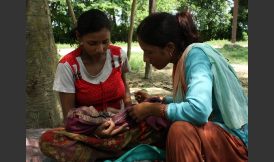 Cord care in Nepal_Save the Children