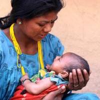 Mother and newborn in Nepal. (Photo courtesy of Jhpiego.)