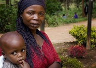 Woman and child in Rwanda. (Photo courtesy of Jhpiego.)