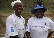 Village health workers in Zimbabwe. (Photo courtesy of Jhpiego.)